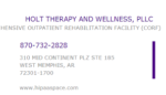 Holt Therapy & Wellness, PLLC